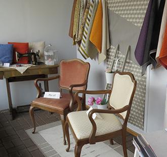 Ausstellung Sessel