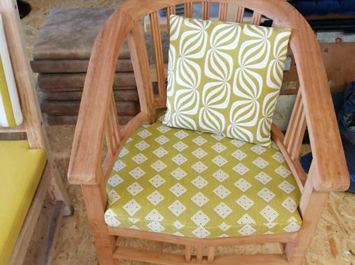 Stuhl für den Wintergarten